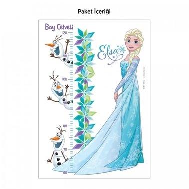 Disney Frozen Boy Cetveli Duvar Sticker 48x68 cm Renkli